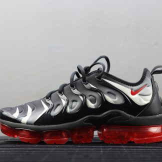 Nike Air VaporMax Plus Red Shark Tooth Running Sneakers AQ8632 001 1 324x324