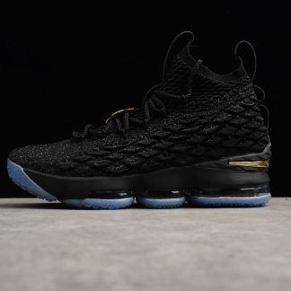 Nike Lebron 15 XV EP Metallic Gold Black1 324x324