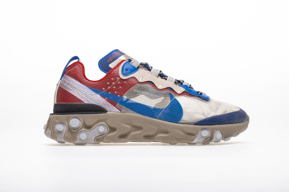 Undercover x Nike React Element 87 Blue Red BQ2718-200 – Fitforhealth