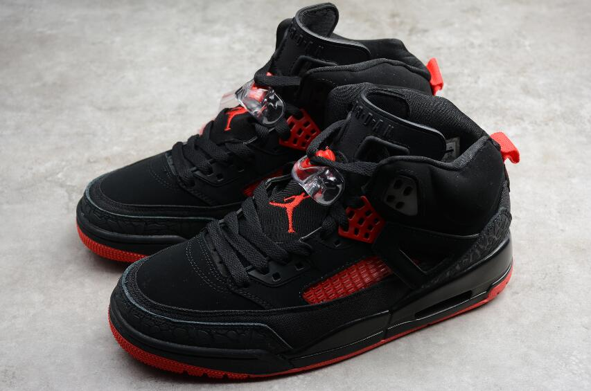 Air Jordan Spizike GS Black Red 315371 006