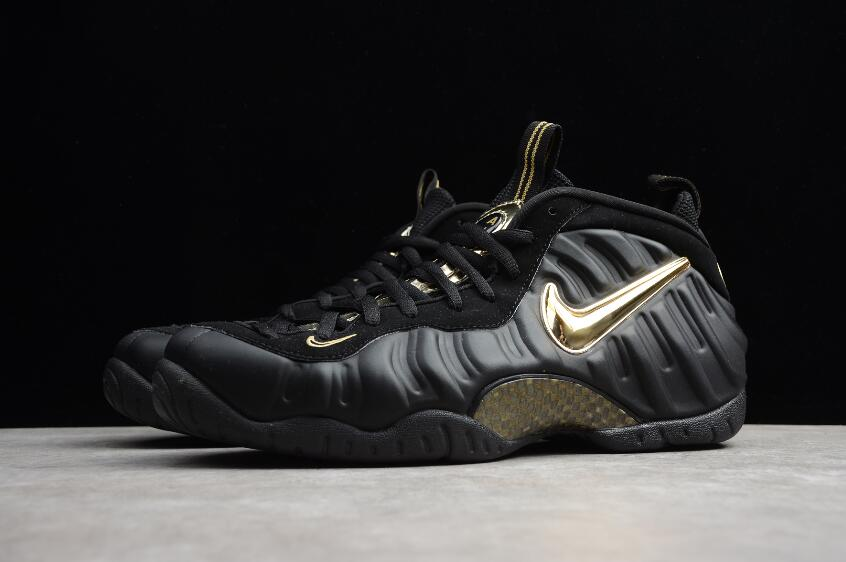 cheapest price sneakers official shop Nike Air Foamposite Pro Black Metallic Gold 624041-009 | New Jordan