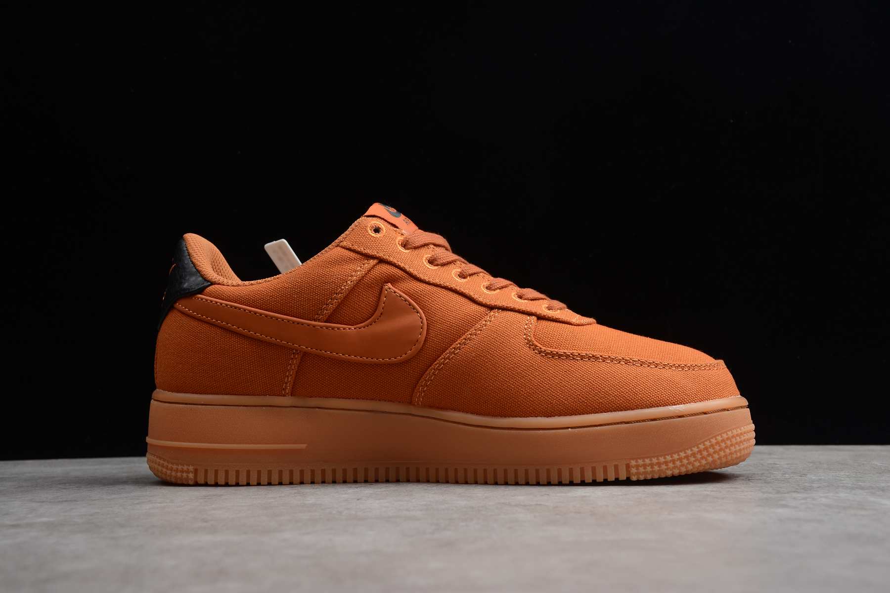 Nike Air Force 1 07 Style Monarch Gum Med Brown AQ0117 800