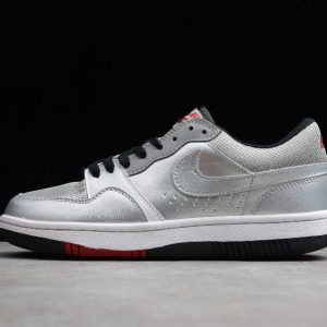 Nike Court Force Low Basic Metallic Silver Black White 314361 001 1 300x300