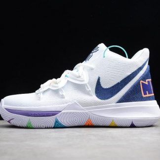 Nike Kyrie 5 EP White Dark Royal Glacier Blue AO2919 101 1 324x324