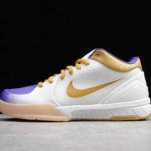 Nike Zoom Kobe 4 MLK ZK4 White Metallic Gold Vrsty Prpl 344335 171 1 300x300