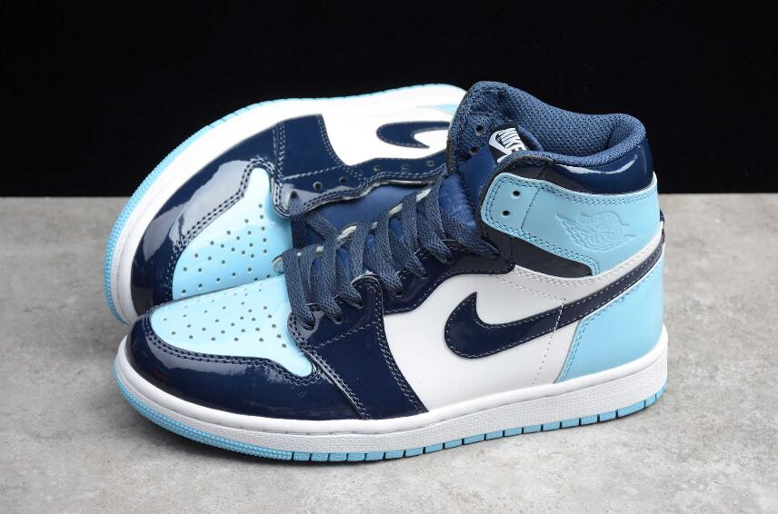 New Air Jordan 1 High Og Osb Dian Blue Chill White Cd0463 401
