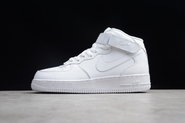 New Nike Air Force 1 Mid 07 White 315123-111 – Ietp