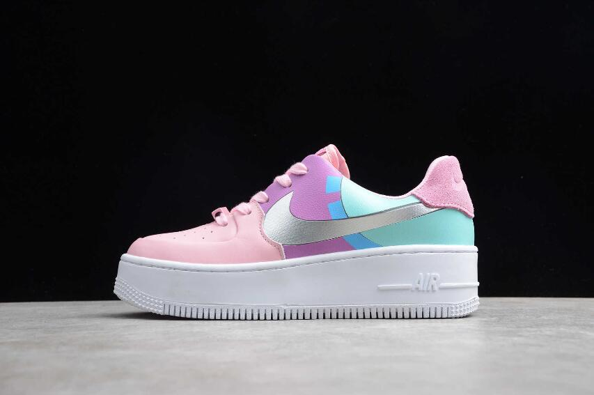 New Nike Air Force 1 Sage Low LX Pink Moon Silver BV1976-007 | New