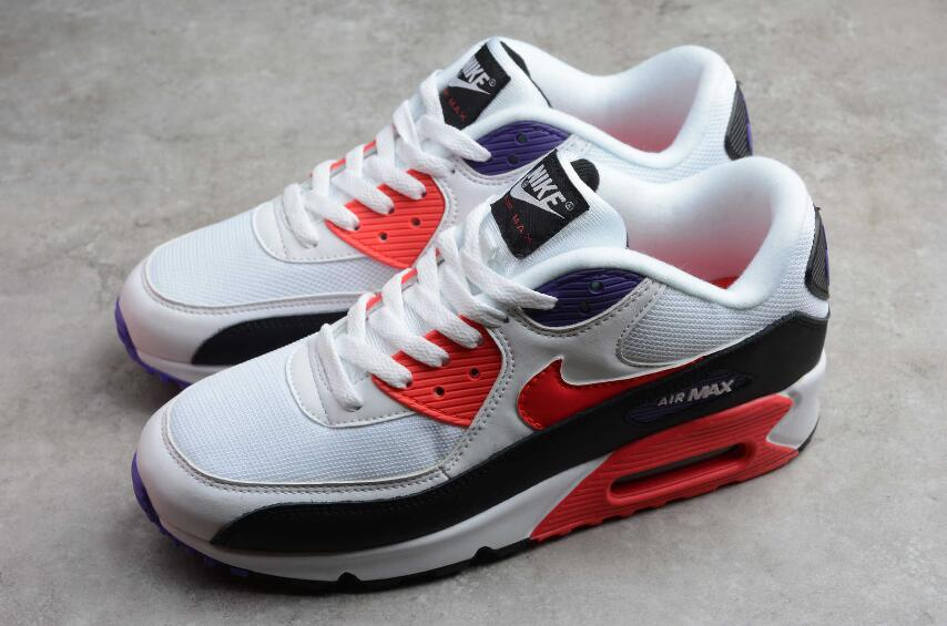 Nike Air Max 90 Essential White Ped Orbit Psychic Purple AJ1285-106 | New  Jordan