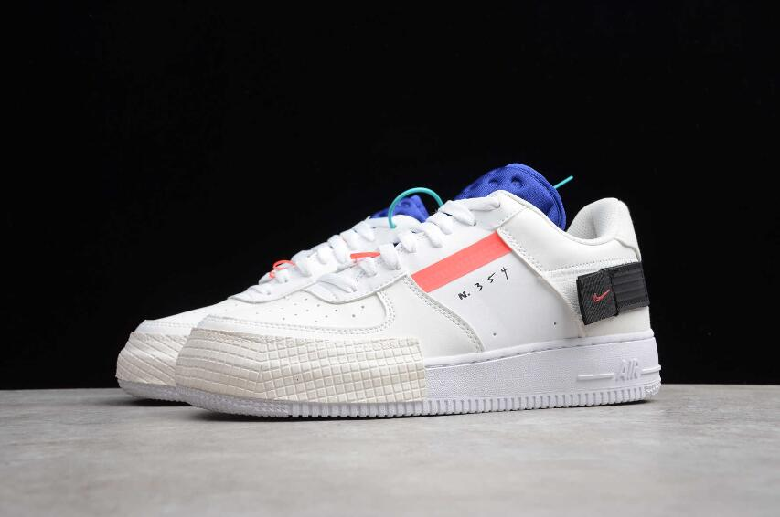 Cool Nike Air Force 1 Type GS Summit White Red Orbit White CI0054 ...