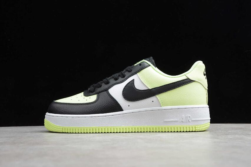 2020 WMNS Nike Air Force 1 07 Barely Volt Black White CW2361-700 ...
