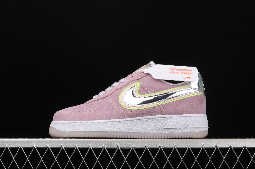 New Nike Air Force 1 07 P(Her)spective Violet Star Chrome CW6013 ...