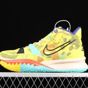 Men Running Sneakers Nike Kyrie 7 EP Electric Yellow CT4080 700 New Sale 1 300x300