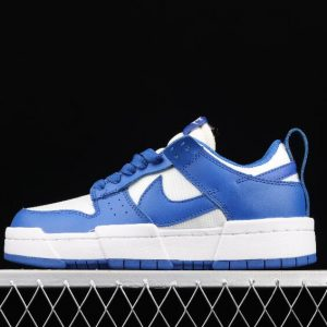 New Stylish Nike WMNS Dunk Low Disrupt White Blue CK6654 100 Sport Sneakers 1 300x300