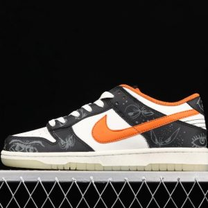 Perfect Running Shoes Nike Dunk Low Halloween Black White Orange DD3357 100 for Sale 1 300x300