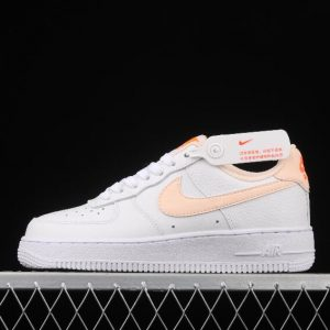 Womens Hiking Sneakers Nike Air Force 1 GS White Crimson Tint CT3839 102 On Sale 1 300x300