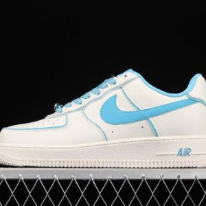 New Arrivals Nike Air Force 1 07 SU19 Beige Blue UH8958 066 Running Sneakers 1 300x300