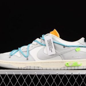 Popular Release Nike Dunk Low LTHR OW 04 of 50 White Grey DM1602 115 Sport Outlets 1 300x300