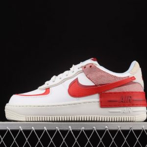 Nike Air Force 1 Shadow Summit White University Red CI0919 108 Outlet 1 300x300