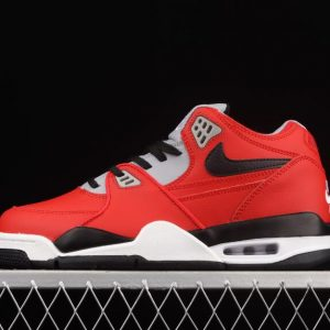 Nike Outlet Air Flight 89 CN5668 600 University Red Black Wolf Grey 300x300