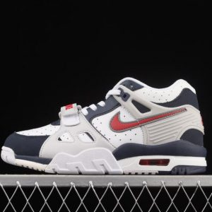 Nike Womens Sneakers Air Trainer 3 GS Midnight Blue CN9750 400 300x300